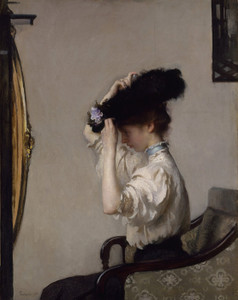 Art Prints of Preparing for the Matinee by Edmund Charles Tarbell