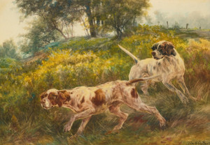 Art Prints of Two Pointers by Edmund Henry Osthaus