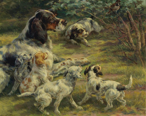 Art Prints of The Curious Pups by Edmund Henry Osthaus