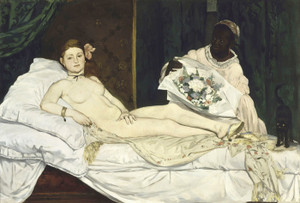 Art Prints of Olympia by Edouard Manet