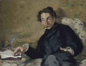 Art Prints of Stephane Mallarme by Edouard Manet