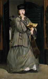 Art Prints of Street Singer by Edouard Manet