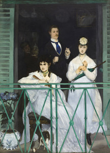 Art Prints of The Balcony by Edouard Manet