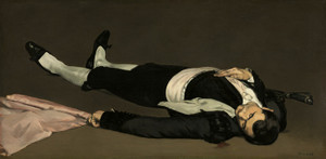 Art Prints of The Dead Bullfighter by Edouard Manet