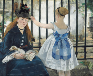 Art Prints of The Railway by Edouard Manet