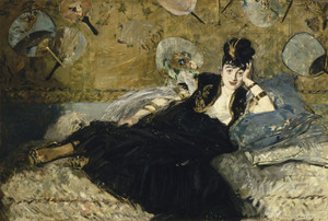 Art Prints of Woman with Fans by Edouard Manet
