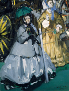 Art Prints of Women at the Races by Edouard Manet