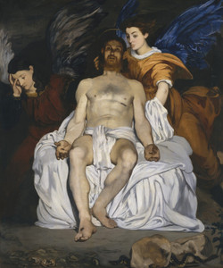 Art Prints of The Dead Christ with Angels by Edouard Manet