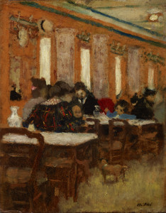 Art Prints of The Little Restaurant by Edouard Vuillard