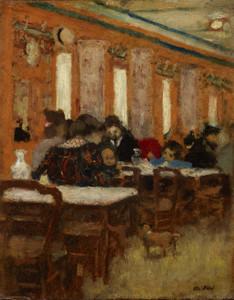 Art Prints of The Little Restaurant by Edouard Vuillard