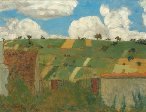 Art Prints of Landscape of the Ile de France by Edouard Vuillard