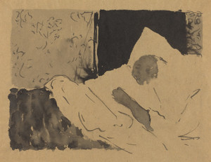 Art Prints of Madame V Sleeping by Edouard Vuillard