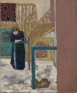 Art Prints of Madame Vuillard in a Set Designer's Studio by Edouard Vuillard