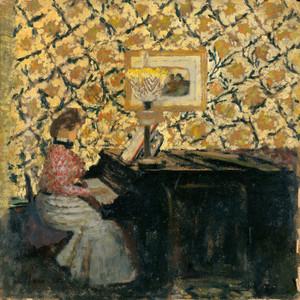 Art Prints of Misia at the Piano by Edouard Vuillard