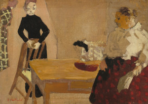 Art Prints of The Conversation by Edouard Vuillard