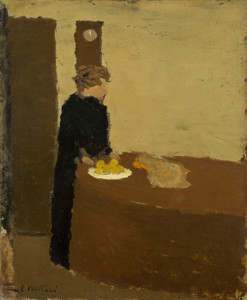 Art Prints of Woman in Black by Edouard Vuillard