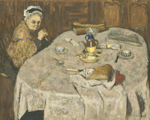 Art Prints of Breakfast of Madame Vuillard by Edouard Vuillard