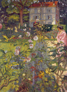 Art Prints of Garden in Vaucresson France by Edouard Vuillard