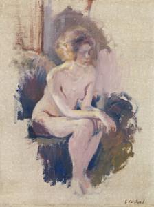 Art Prints of Nude Study by Edouard Vuillard