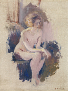 Art Prints of Nude Study by Edouard Vuillard