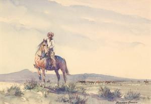 Art Prints of Trail Boss by Edward Borein