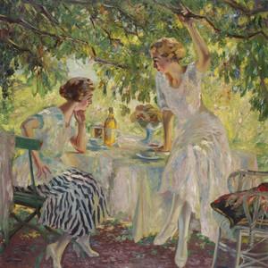 Art Prints of Afternoon Tea by Edward Cucuel