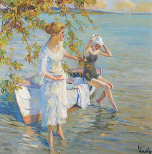 Art Prints of Morning Swimming by Edward Cucuel