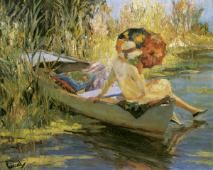 Art Prints of Quiet Waters by Edward Cucuel