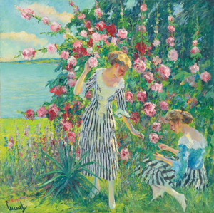 Art Prints of Summer Flowers by Edward Cucuel
