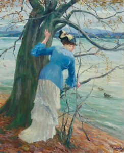 Art Prints of The Old Oak by Edward Cucuel