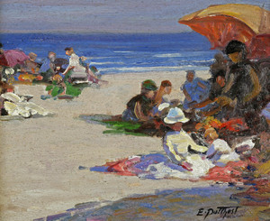 Art Prints of Beach Scene IIII by Edward Henry Potthast