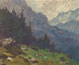Art Prints of Selkirk Mountains by Edward Henry Potthast