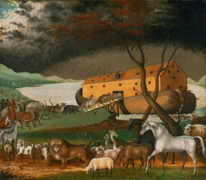 Art Prints of Noah's Ark by Edward Hicks