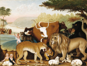 Art Prints of Peaceable Kingdom, 1846 by Edward Hicks