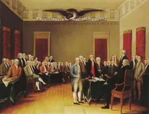 Art Prints of The Declaration of Independence by Edward Hicks
