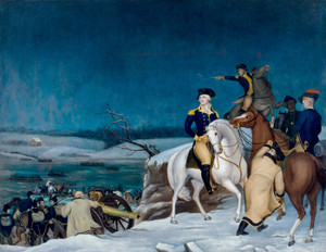 Art Prints of Washington at the Delaware by Edward Hicks