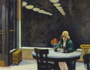 Art Prints of Automat by Edward Hopper