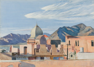 Art Prints of Construction in Mexico by Edward Hopper