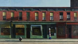 Art Prints of Early Sunday Morning by Edward Hopper