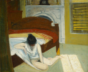Art Prints of Summer, Interior by Edward Hopper