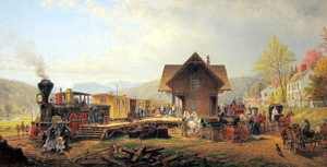 Art Prints of The 9,45 Accommodation by Edward Lamson Henry