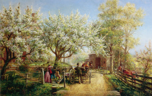 Art Prints of The Homecoming by Edward Lamson Henry