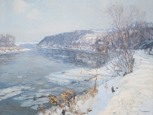 Art Prints of The Upper Delaware by Edward Redfield