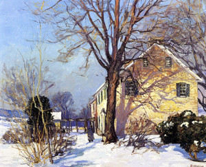 Art Prints of The Homestead by Edward Redfield