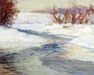 Art Prints of Winter by Edward Redfield
