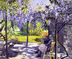 Art Prints of Wisteria by Edward Redfield