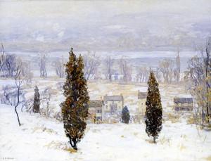 Art Prints of The Grey Veil by Edward Redfield