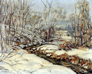 Art Prints of Sunny Brook, Easter Morning by Edward Redfield
