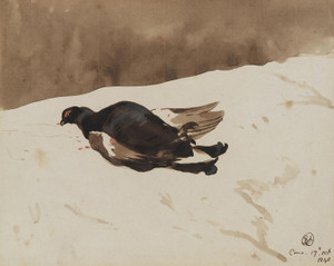 Art Prints of Blackcock by Edwin Henry Landseer
