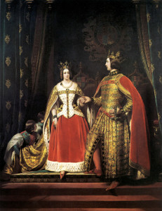 Art Prints of Queen Victoria and Prince Albert by Edwin Henry Landseer